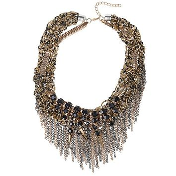 SAVANNAH - Glam Beaded Bib