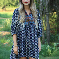 Playing For Keeps Tunic Dress