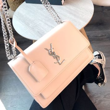 YSL 2019 new wild female models sunset bag chain bag shoulder bag