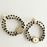 Hamsa & Evil Eye Protection Bracelet