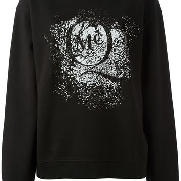 Mcq By Alexander Mcqueen Printed Sweater