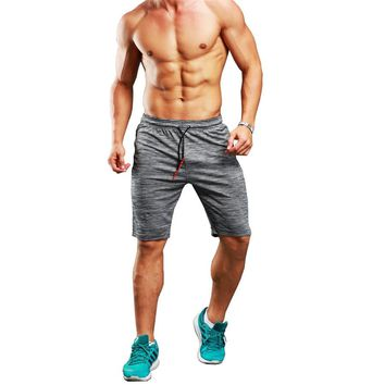 2018 Mens Gym Shorts Quick Dry Sport Running Shorts Men Crossfit Compression Short Pants Jogging Shorts Camo Gray Sweatpants