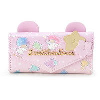Little Twin Stars Key Case Pouch Ear Pink ❤ Sanrio Japan Kiki Lala