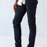 Unbranded Tight Stretch Selvedge Straight-Fit Jean- Indigo