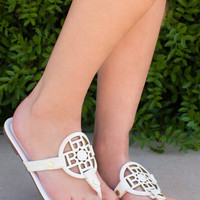 Keep Cool Sandals - White