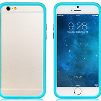 4.7'' Plastic Bumper for iPhone 6 (Blue)