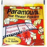 4oz Popcorn Packets - Perfect Portion Packs For 4 oz Popcorn Maker Machine Popper - Case of 24