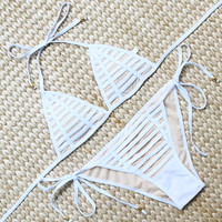 Hot Swimwear Women Bandage Beach Bathing Suits Push Up Brazilian Bikini Set Sexy Brazilian Biquinis 2017 Maillot De Bain Femme