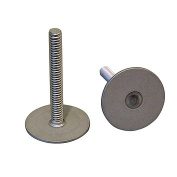 """Weld Mount 1.5"""" Tall Stainless Stud w-1-4"""" x 20 Threads - Qty. 10 [142024]"""