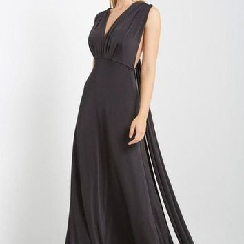 Marilyn Multi-Way Maxi Dress - Black