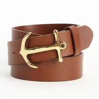 Leather Belts: Anchor Belt for Men - Vineyard Vines