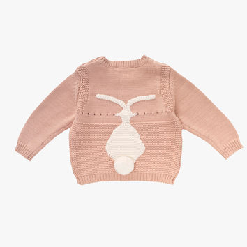Stella McCartney KIDS Thumper Baby Bunny Sweater - Pink