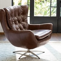 Wells Leather Armchair
