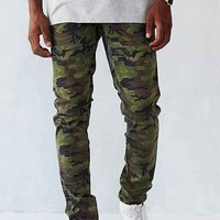 Tripp NYC Camo Rocker Pant- Green Multi