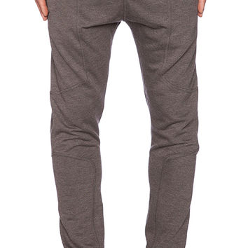 Publish Buck Fleece Pant in Charcoal