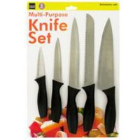 Multi-Purpose Kitchen Knife Set ( Case of 2 )