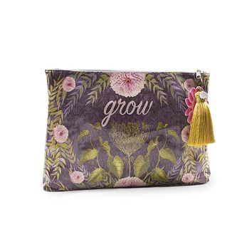 Grow Large Tassel Pouch