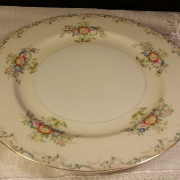 Grace China Gra2 Pattern 10 Dinner Plate Circa 1934 Made In An Fl