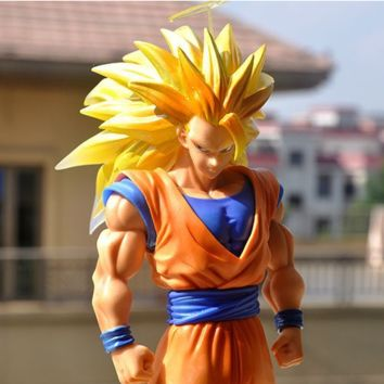 Dragon Ball Z Super Saiyan 3 Son Goku Figuarts ZERO 11