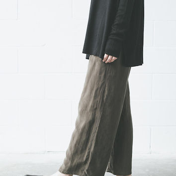 Objects Without Meaning - Lounge Pant in Olive