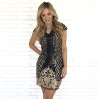 Outshine You Sequin Party Dress