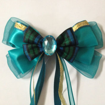 Merida Inspired disney hair bow