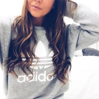 Fashion Letter Print Pullover Tops Sweater Sweatshirts