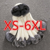 Women Fox Fur Coat [9145124870]