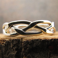 Argentium Sterling Silver Stacking Ring Number 7