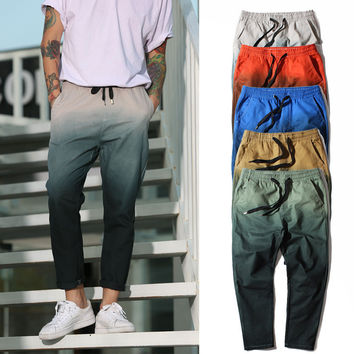 Casual Pants Winter Gradient Skinny Pants [9328123140]