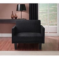Dorel Home Furnishings Metro Chair Black - Furniture & Mattresses - Living Room Furniture - Chairs & Recliners