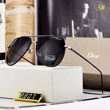 DIOR Fashion New Polarized Women Men Sunscreen Leisure Eyeglasses Glasses