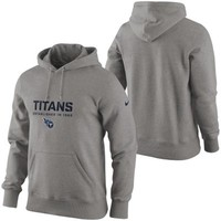 Nike Tennessee Titans Classic Team Issue Hoodie - Ash