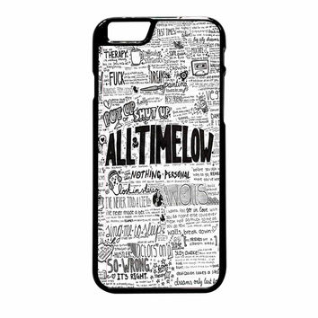 All Time Low Quotes Art iPhone 6 Plus Case