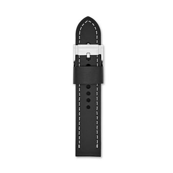 Leather 22mm Watch Strap – Black