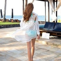 Lace Swimsuit Cover Up