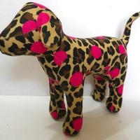 Victoria's Secret Pink Dog Leopard and Pink Polka Dots