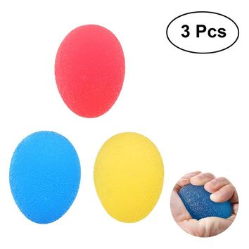 3pcs TPR Stress Relief Balls Finger Exercise