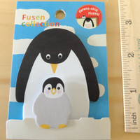 Cute penguin memo/notepad/sticky note