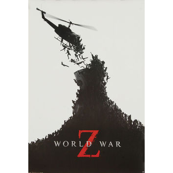 World War Z Domestic Poster