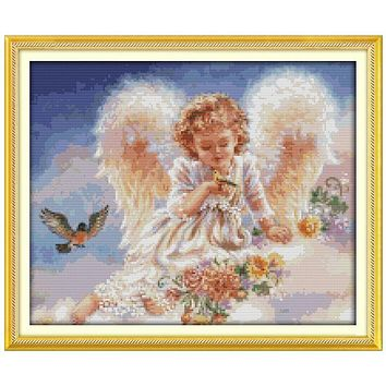 The Continuation of Life Patterns Counted Cross Stitch 11CT 14CT Cross Stitch Set Chinese Cross-stitch Kit Embroidery Needlework
