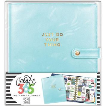Me and My Big Ideas Create 365 Collection Planner Deluxe Cover Big Limpet Blue