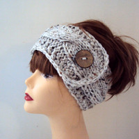 Cable Knit Earwarmer Headband Chunky Head Band Cowl Neckwarmer Dreadlock Rasta Headband Women Fashion Accessories Hair Accessories
