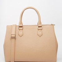 ASOS Zip Top City Bag