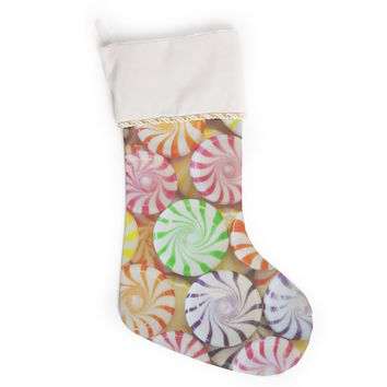 """Libertad Leal """"I Want Candy"""" Christmas Stocking"""