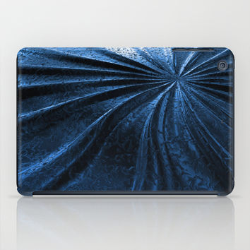 Cold Metal Abstraction iPad Case by Cinema4design