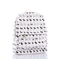 Cute Lovely Cartoons Backpack = 4887474628