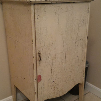 Antique Cabinet With Original Paint
