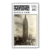 US Postage Stamp - Empire State Building