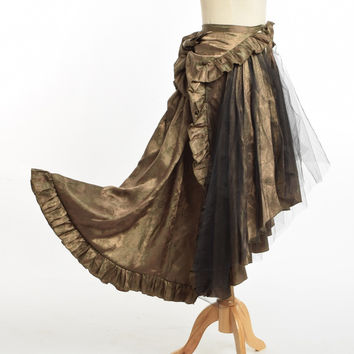 Victorian Sarong Skirt (Can also be worn as Cape Top)